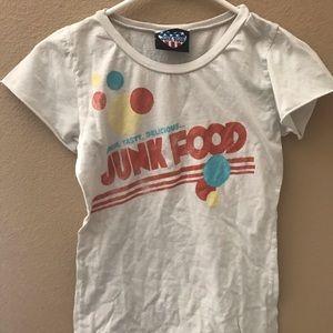 Women's T-Shirt Junk Food New Medium never Worn